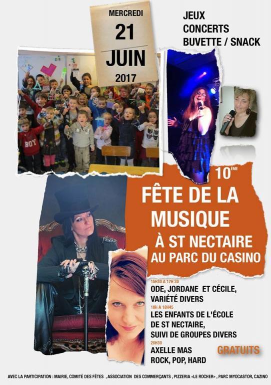 Fête de la musique 2017 Saint Nectaire