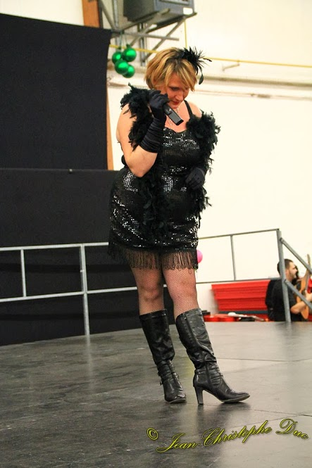 Cabaret en association pour le Téléthon